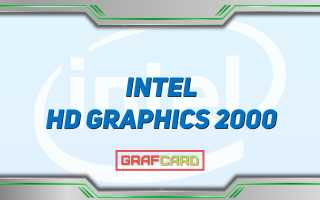 Свойства видеокарты intel r hd graphics
